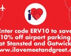 Save 10% on Airport Parking at Gatwick & Stansted