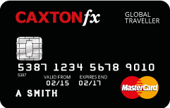 Caxton FX pre-paid currency cards